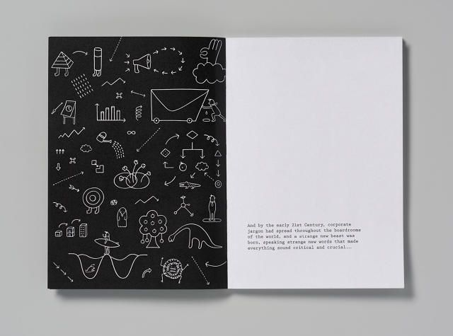 Pentagram Skewers Corporate Jargon In This Hilarious Holiday Card