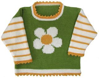 Posy Pullover pattern by Gail Pfeifle, Roo Designs