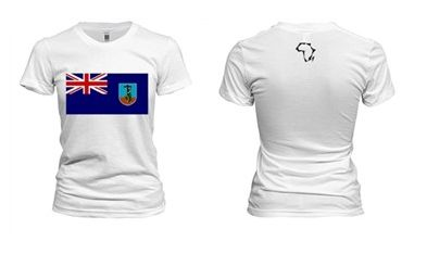 Women's Montserrat Flag T-Shirt