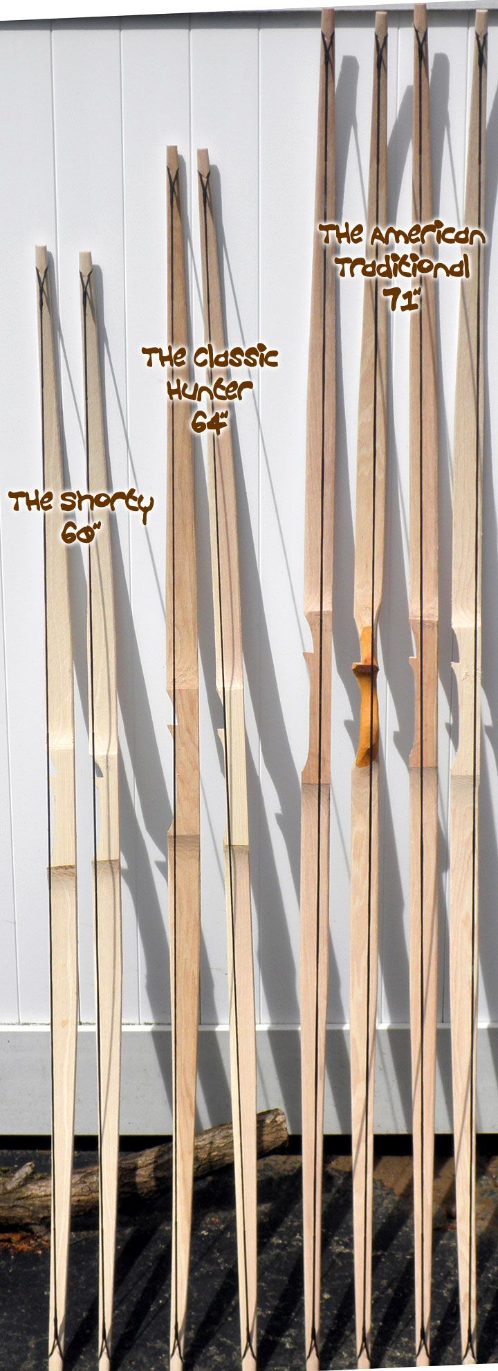 In Stock 50# The American Traditional Longbow 68 - $55.00 : G.I.Bow.com, The American Product!