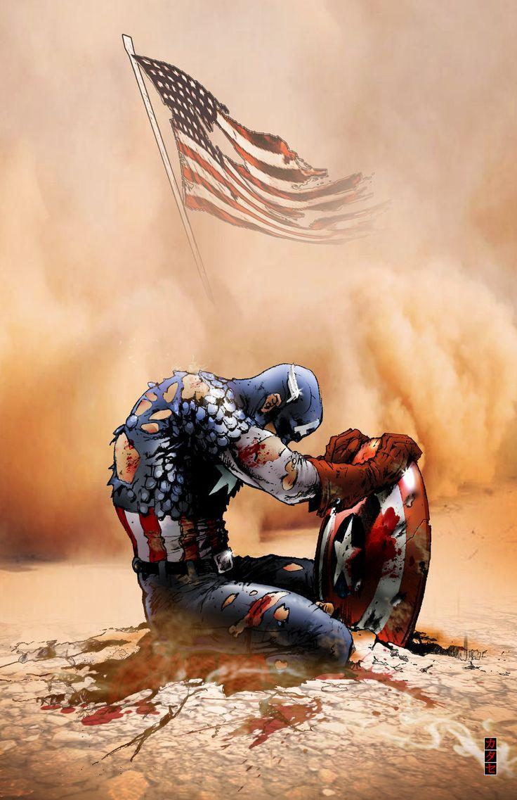 Captain America by Katase6626.deviantart.com on @deviantART #CaptainAmerica #marval #comics