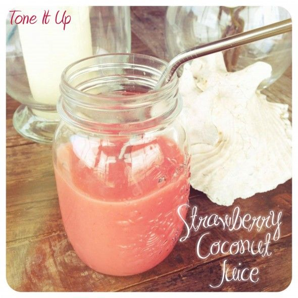 Strawberry Coconut Juice. Could use some of this.