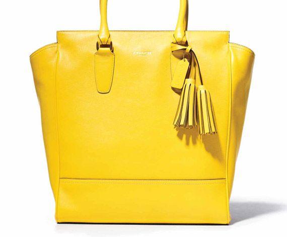 Coach Legacy CollectionCoaches Handbags, Fashion, Style, Coaches Bags, Design Handbags, Coach Legacy, Coaches Legacy, Yellow, Legacy Collection