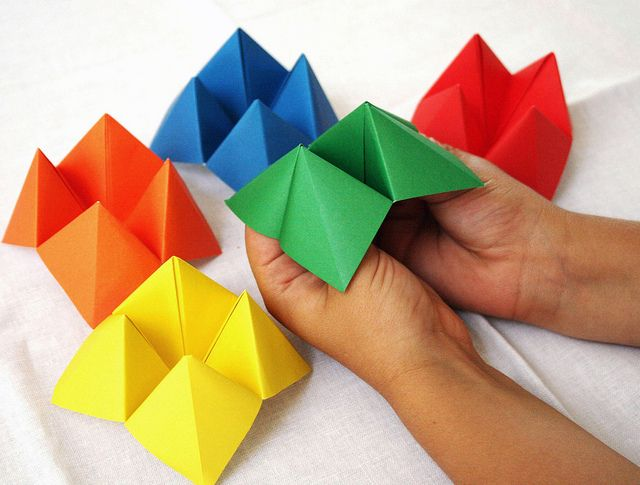 DIY Chatterbox Tutorial - Cute craft for kids, link for instructional video on page.