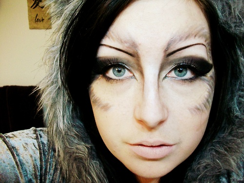 wolf makeup - Google Search