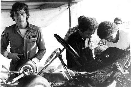 Young Aryton in Kart racing || In the memory of Aryton Senna