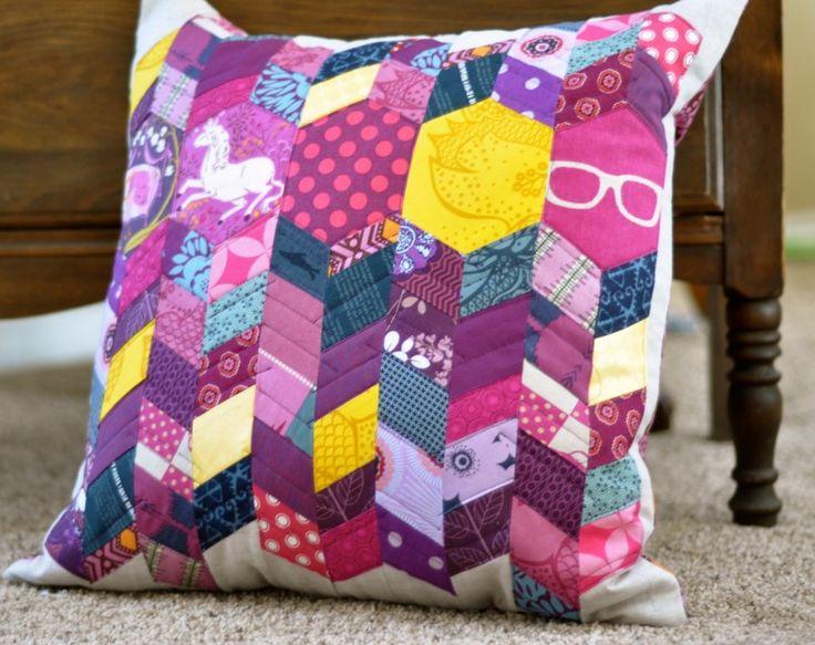 Purple Pillow Eater - A Crafty Fox