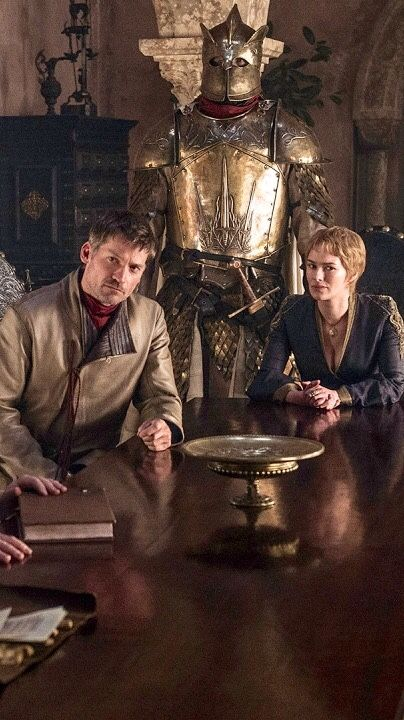Jamie and Cersei Lannister and the Mountain, Game of Thrones Season 6