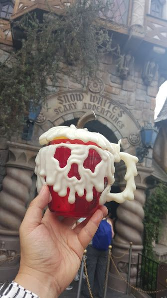 Poison Apple Mug Makes Its Debut at Disneyland for Halloween Time!