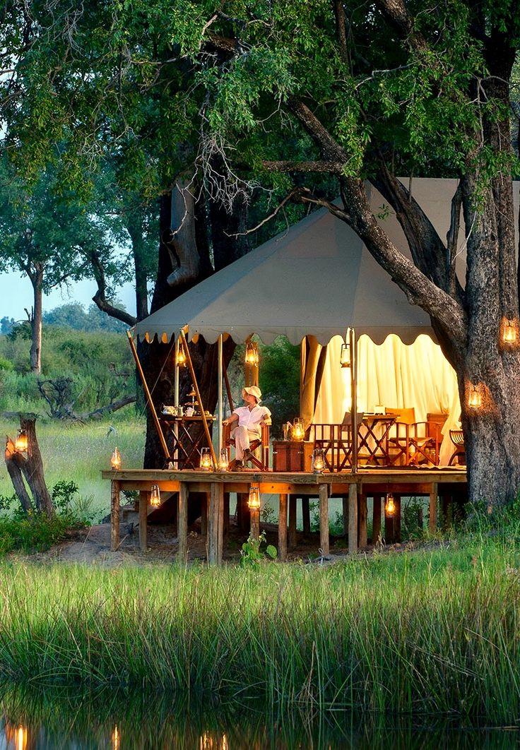 Duba Expedition Camp - Okavango Delta, Botswana
