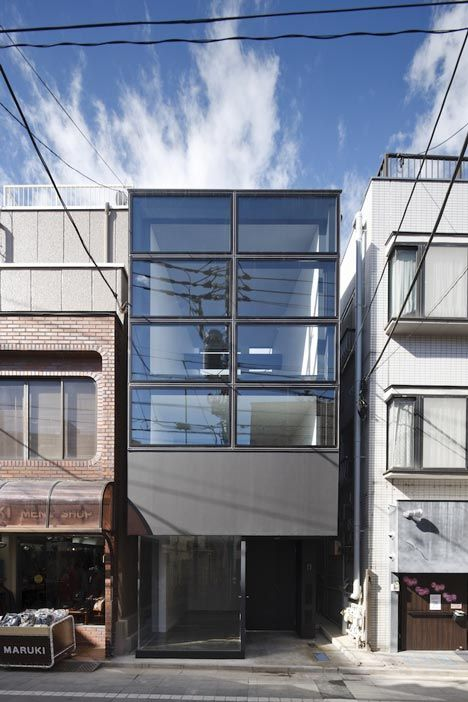 Flag house in Tokyo / by Apollo Architects & Associates