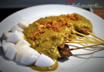 Indonesian Food: Sate Padang (Padangnese Satay) #wonderfulindonesia #food #travel