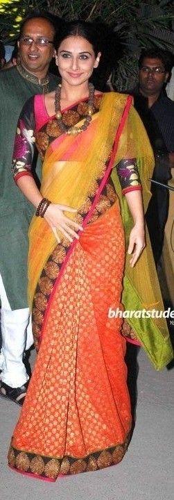 Vidya Balan, men shalwar kameez, kurti tunic tops@ http://ladyindia.com