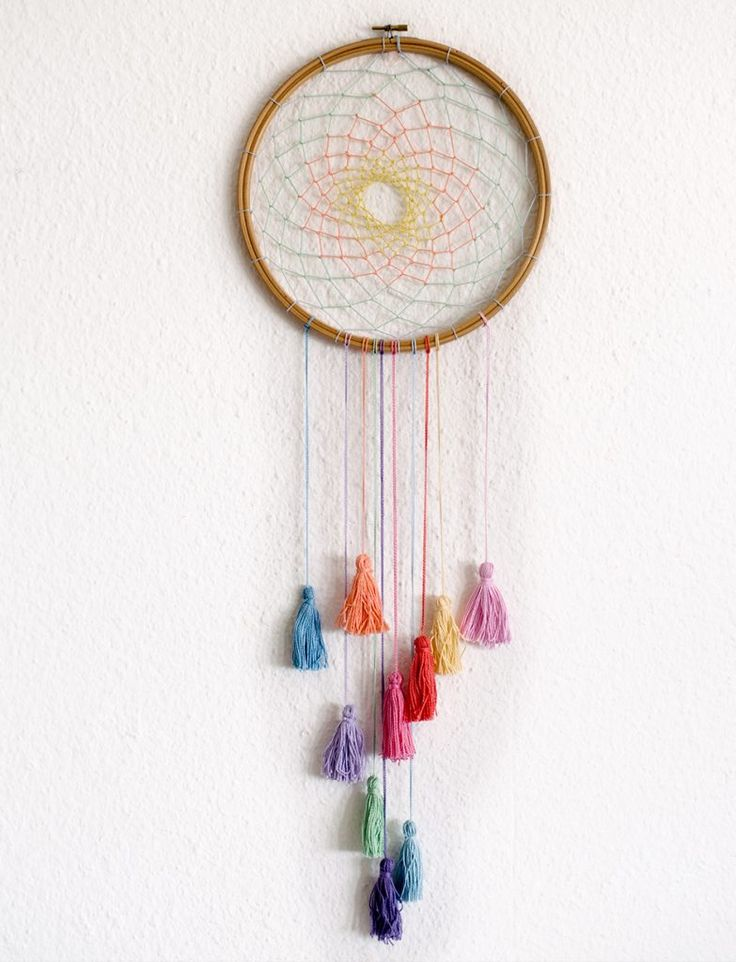 25 best ideas about dream catcher patterns on pinterest for How to make a double ring dreamcatcher