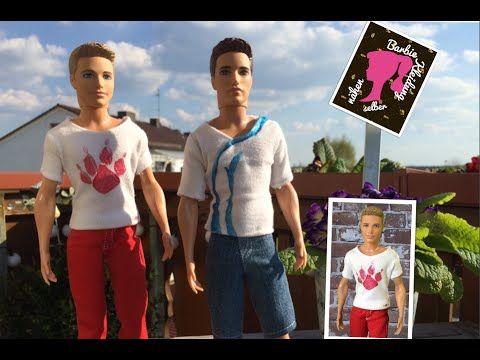 Shirt für Ken selbst nähen. - YouTube