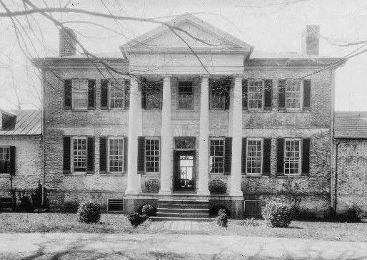 Sabine Hall, Richmond county, Virginia