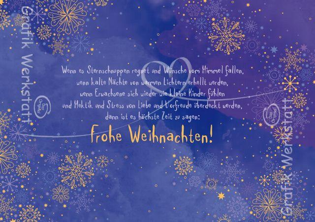 Art.Nr. 25337: Doppelkarte - Frohe Weihnachten