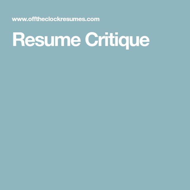 Best 25+ Resume review ideas on Pinterest Things to, A resume - umich resume builder