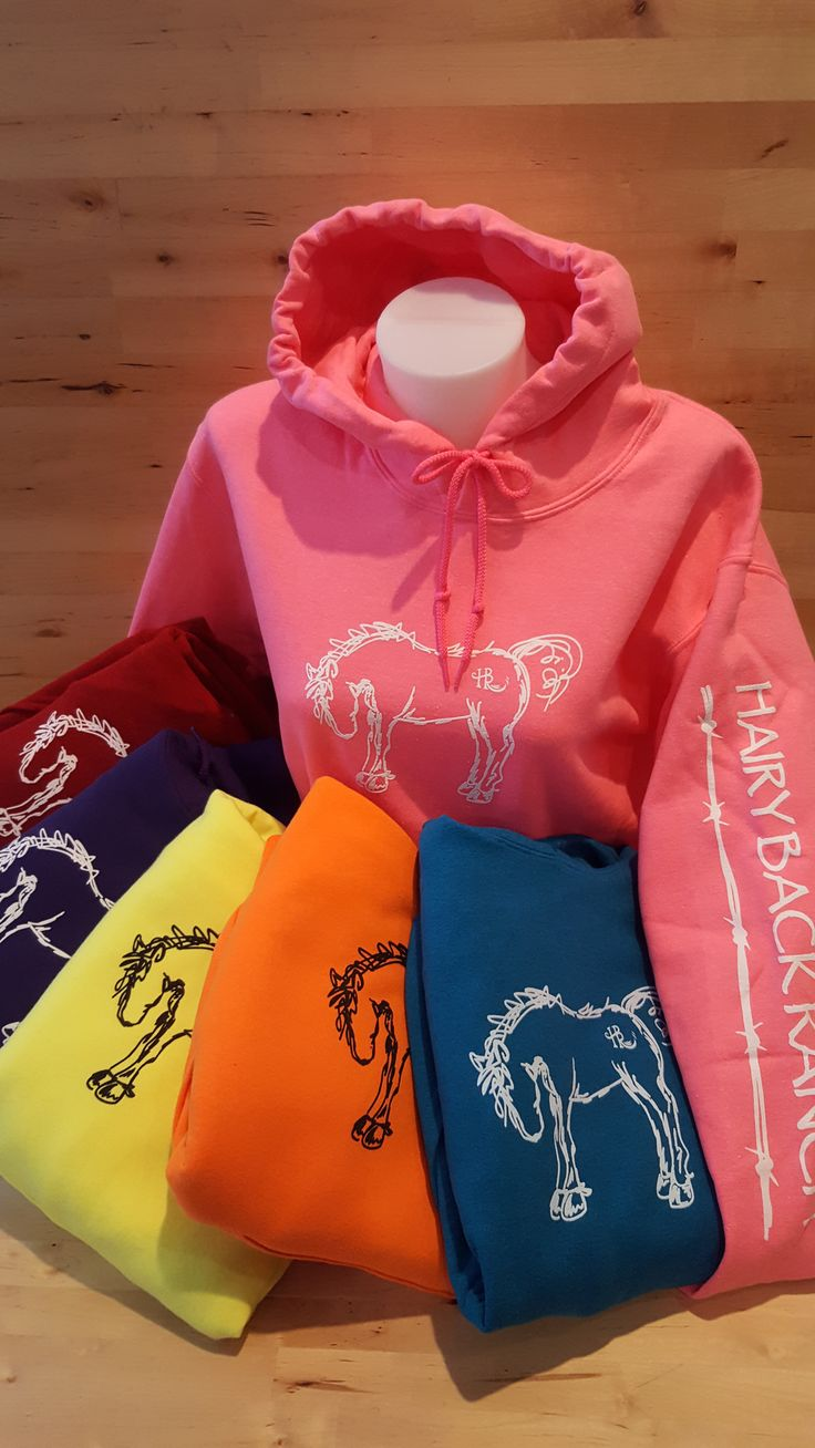 Adult Pullover Hoodie - Bright Colors