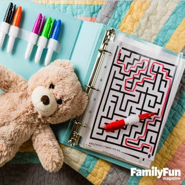 Love the maze and the velcro for pens, haven't even read the rest!