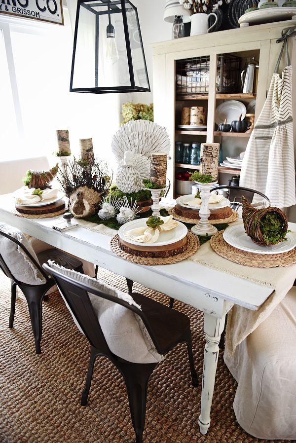 45 Best Rustic Thanksgiving Dining Room Images On Pinterest  La Inspiration Dining Room Attendant Duties Inspiration Design