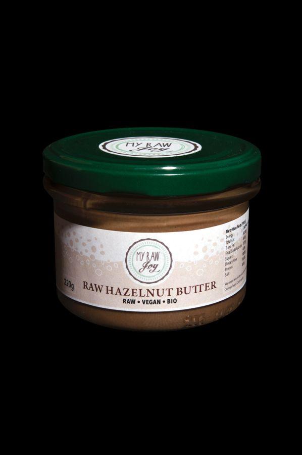 Raw Hazelnut Butter, Raw Vegan, Clean Eating, Bio