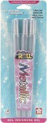 Sakura Gelly Roll Metallic Pen - Silver 3/Pkg