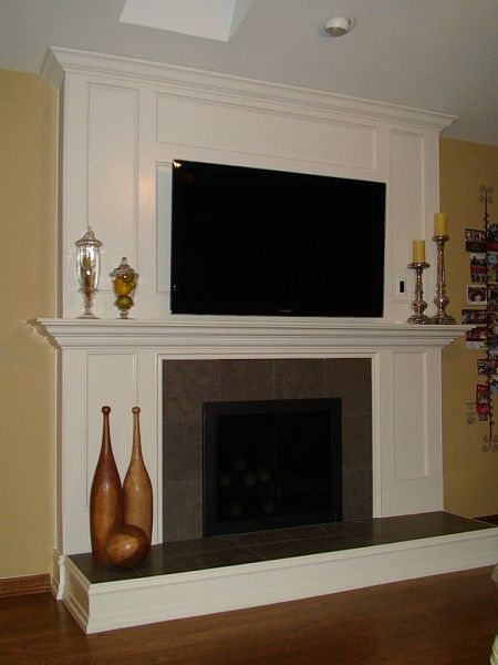 Fireplace Remodel Ongoing Fplace House In Out Pinterest