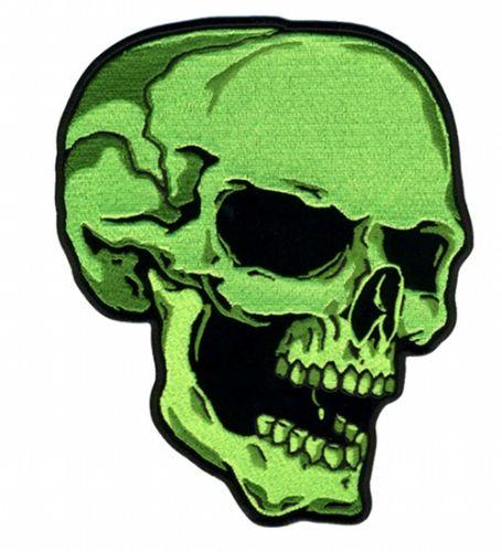 Шеврон - Зеленый череп