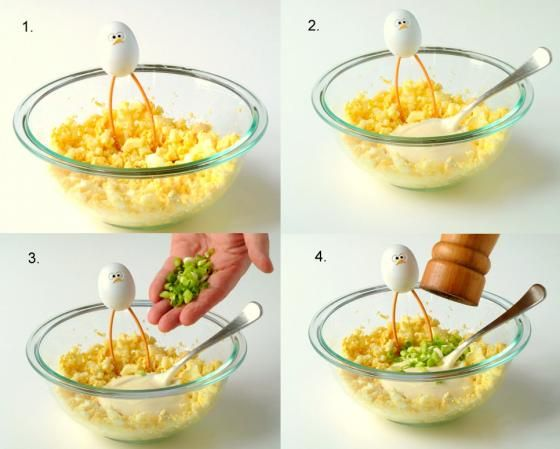Smashed Egg Salad