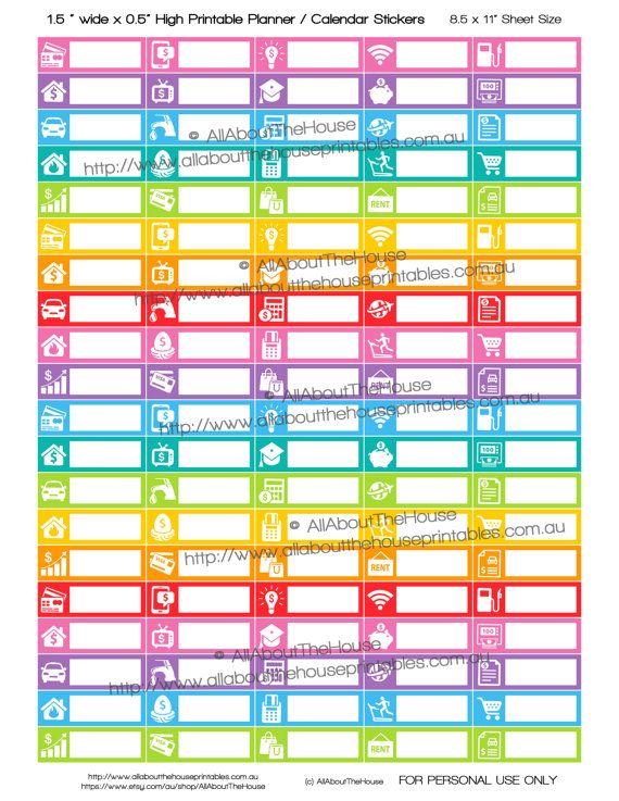 25+ unique Bill planner ideas on Pinterest Bill organization - bill calendar