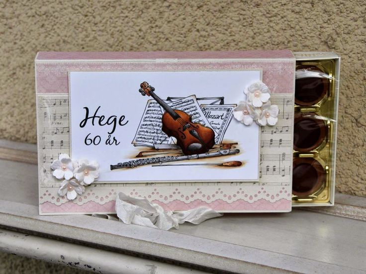 Cards and Creations: Music Toffifee