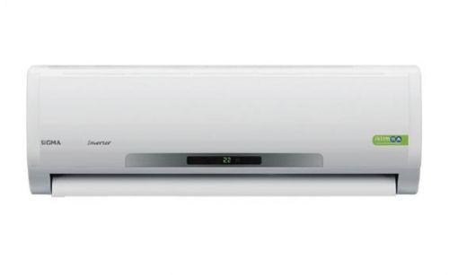 Sigma SGM12INVDMB İnverter Klima (12.000 Btu) 11700 soğutma kapasitesi ile yaz aylarında sizi serinliğe kavuşturacak olan bu klima, 13000 ısıtma kapasitesi ile de soğuk havalarda içinizi ısıtarak yaz kış sizinle birlikte olacaktır. Ekranı ile kolay kullanımı sağladığı gibi yüksek verimliliği ile de ortamı istediğiniz ısıya kolayca ulaştıracaktır. http://www.beyazesyamerkezi.com/Sigma-SGM12INVDMB-inverter-Klima-12-000-Btu.html