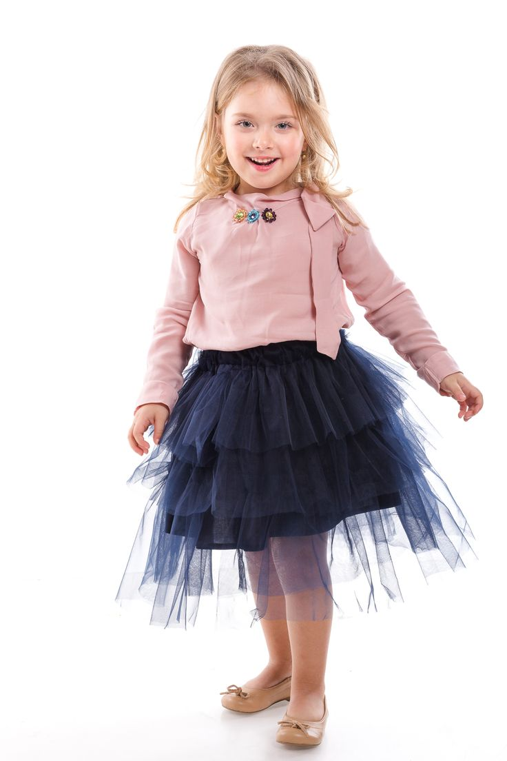 Joy, tutu, swarovski elements and pink, all in one fashion for kids proposal from Designers for Kids...