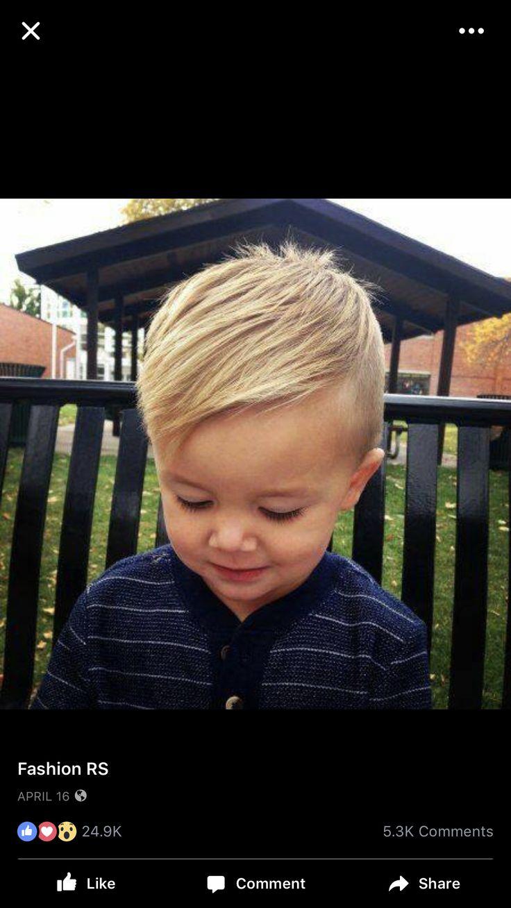This will be Rowan's first haircut