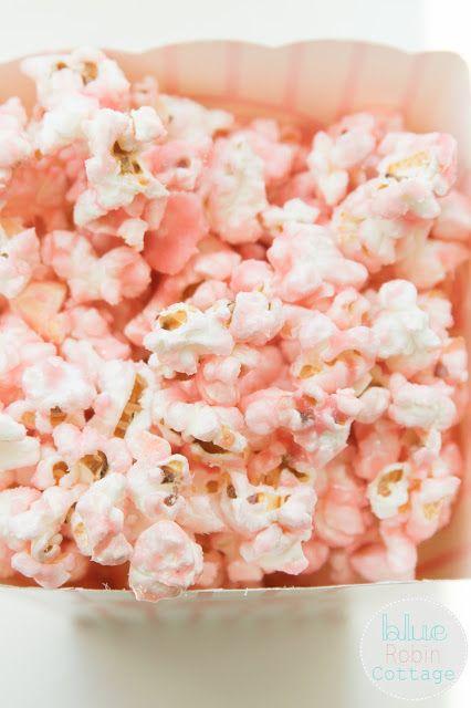 Blue Robin Cottage: Old Fashioned Pink Popcorn