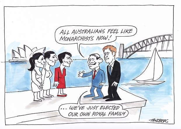 Ron Tandberg Our Royal Family