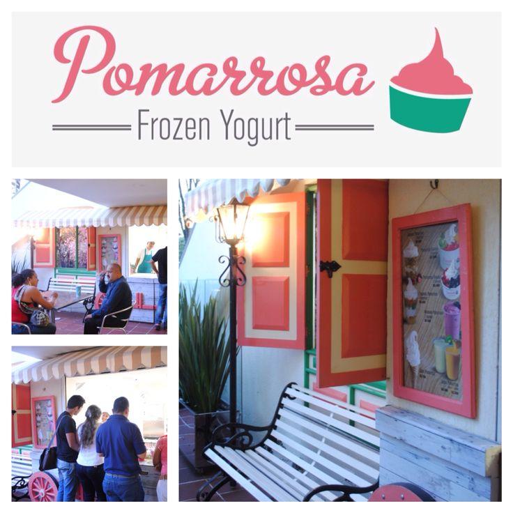 Visítanos en nuestro Pomarrosa Plaza de Bolivar y escoge tu explosión de sabores favorita. #pomarrosafrozenyogurt #elplacerdecomersano