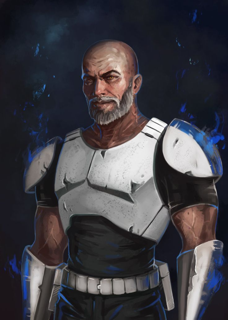 Captain Rex by RinaCane.deviantart.com on @DeviantArt ... Love this alot more than the way he's done in Star Wars Rebels!!!! °°