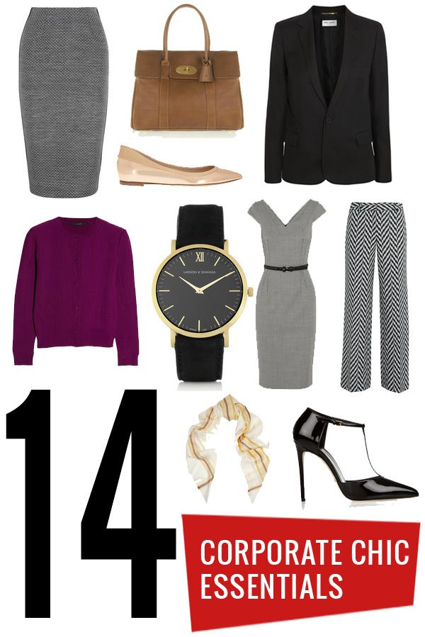 14 Essentials for a Corporate Chic Look