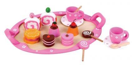 Dessert Set - 18 Piece - The Wooden Toy Box Store