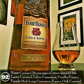 Twitter Facebook Google+ Pinterest StumbleUpon Buffer Email Tumblr Reddit Love This Pocket Flipboard Del I love single barrel bourbon because it tends to be a higher quality bourbon as distillers hunt and peck for only the best barrels to bottle. I love Four Roses bourbon as it tends to be a higher quality bourbon because …