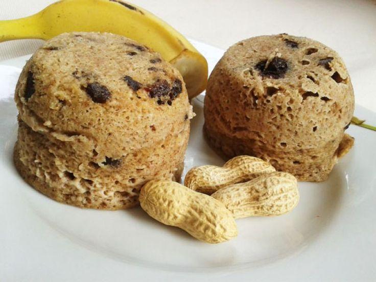 Fitness muffinky z mikrovlnky - bez múky