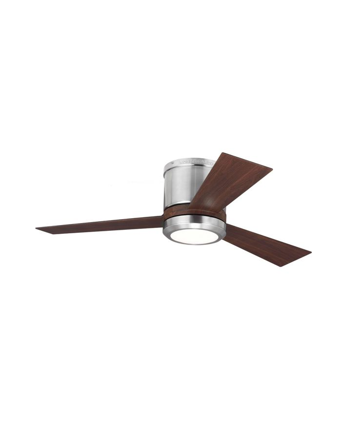 Monte Carlo 3CLYR42 Clarity II Energy Smart 42 Inch Flush Mount Fan With Light Kit | Capitol Lighting 1-800lighting.com
