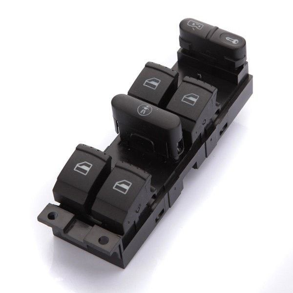 Window Panel Master Switch Press For 99 00 01 02 03 04 VW  Golf Jetta. window Panel Master Switch Press Is Available Now From Our Us And Uk Warehouse    free Shipping To Us And Uk In 3-6 Business Days  ship To Canada,brazil In 7-10 Days In Us Warehouse  ship To European Countries In 7-10 Days In Uk Warehouse    features:     1. Quality Replacement Parts, Plug & Play Installation  2. Strict Factory Qc Test, Trustworthy Quality Assure Your Safety  3. Warranty Offered, Choosing Us Always…