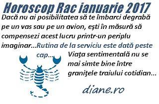 diane.ro: Horoscop Rac ianuarie 2017