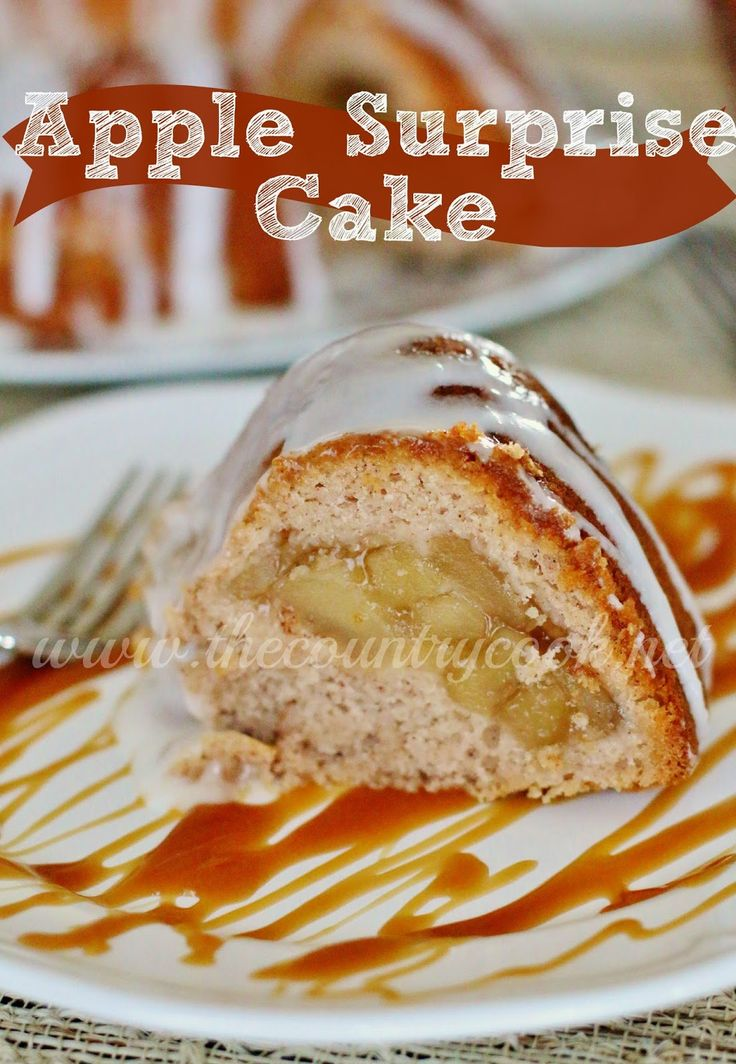 Apple Surprise Cake | Just 4 ingredients! My family went nuts for this ...