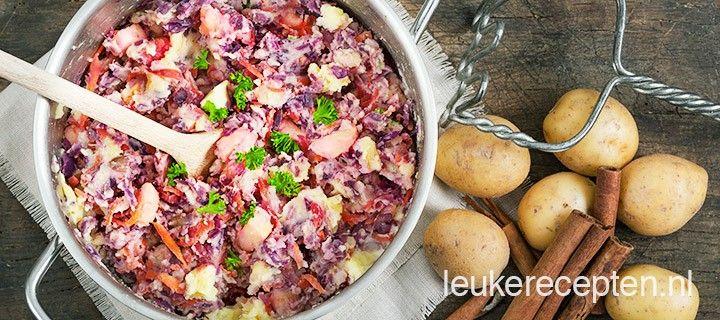 Heerlijk winters recept met verse rode kool, winterpeen, appel en een snufje kaneel