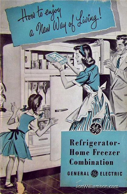 General Electric Refrigerator Home Freezer Combination
