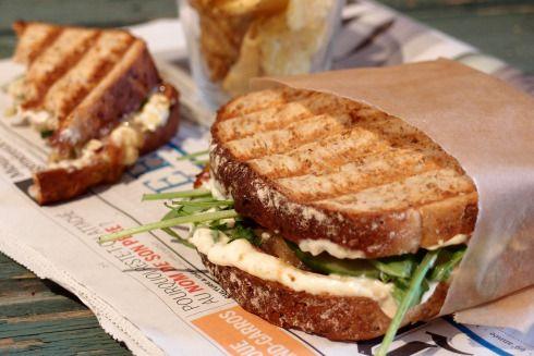 grillad smörgås